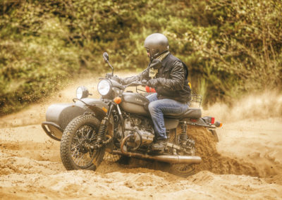 ural in the dirt